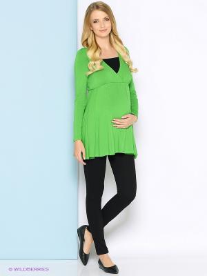 Туника Trendy Tummy. Цвет: зеленый, черный