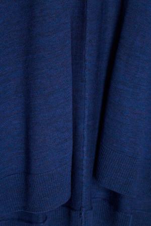Темно-синий кардиган из шерсти Adolfo Dominguez. Цвет: синий