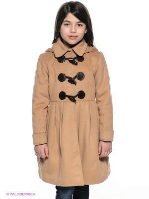 Пальто Baby Steen. Цвет: бежевый