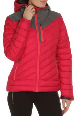 Куртка Icepeak. Цвет: малиновый