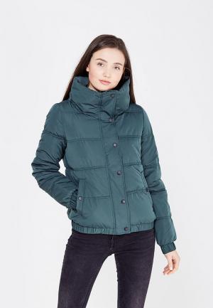 Куртка утепленная Tom Tailor Denim. Цвет: зеленый