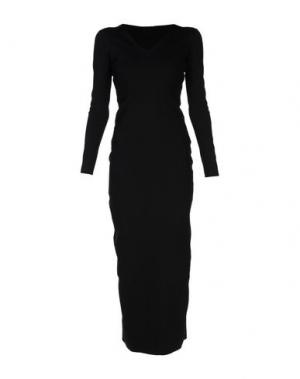 Длинное платье THE ROW. Цвет: черный