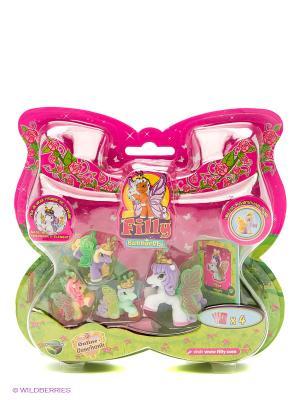 Набор с бабочками Филли Волшебная семья Splash немецкая версия Dracco. Цвет: розовый