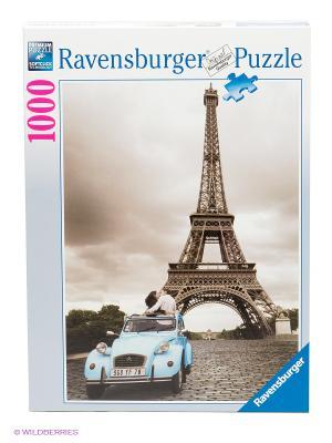Пазл Романтика в Париже Ravensburger. Цвет: серый