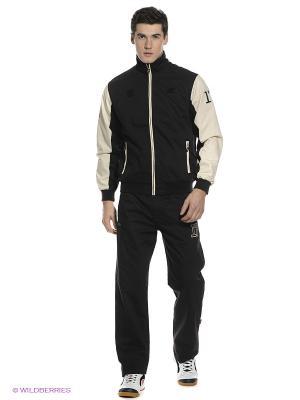 Спортивный костюм Forward. Цвет: черный, молочный