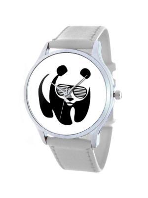 Дизайнерские часы Panda Tina Bolotina. Цвет: черный,белый