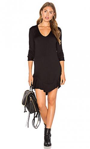 Платье emily Riller & Fount. Цвет: черный