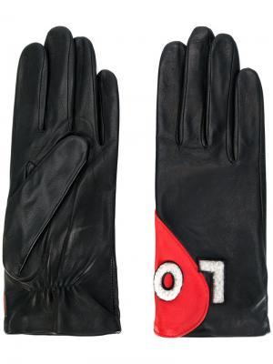 Перчатки Love Agnelle. Цвет: чёрный
