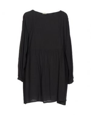 Короткое платье AMERICAN VINTAGE. Цвет: стальной серый