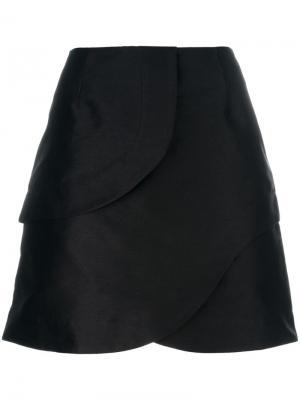 Короткая юбка Isa Arfen. Цвет: чёрный