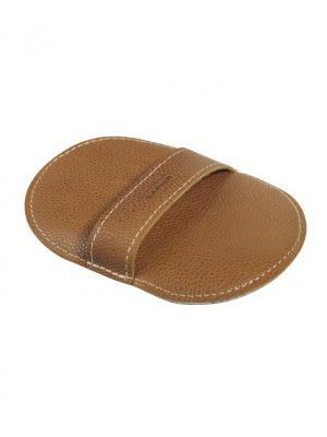 Салфетка для полировки обуви шерстяная Saphir. Цвет: белый