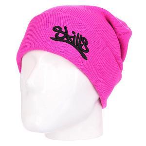 Шапка  001 Bright Pink Skills. Цвет: розовый