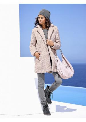 Пальто B.C. BEST CONNECTIONS by Heine. Цвет: розовый, темно-синий