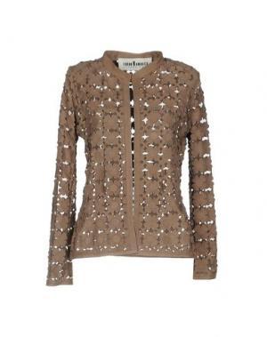 Пиджак CABAN ROMANTIC. Цвет: голубиный серый