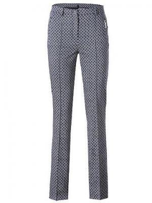 Моделирующие брюки CLASS INTERNATIONAL FX. Цвет: темно-синий/молочно-белый