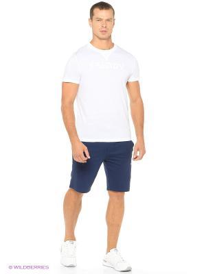 Комплект: футболка, брюки Freddy. Цвет: темно-синий, белый