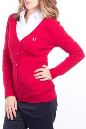 Кардиган POLO CLUB С.H.A.. Цвет: red