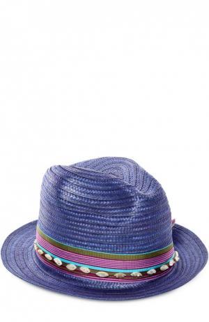 Шляпа OndadeMar. Цвет: синий