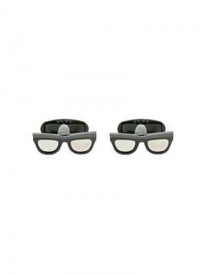 Glasses cufflinks Paul Smith. Цвет: чёрный