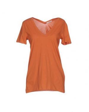 Футболка DEVOTION. Цвет: оранжевый