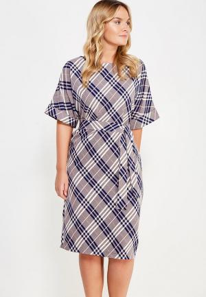 Платье Mankato. Цвет: серый
