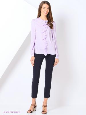 Блузка YUVITA. Цвет: фиолетовый