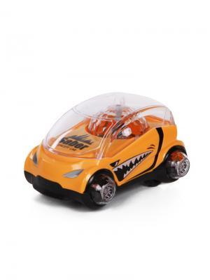 Машинка со световыми эффектами YAKO. Цвет: желтый