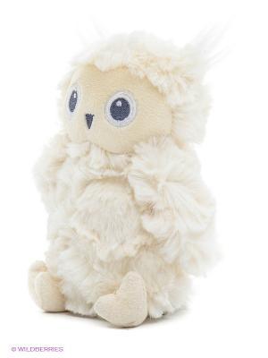 Игрушка мягкая Greary Owl Rattle Gund. Цвет: белый