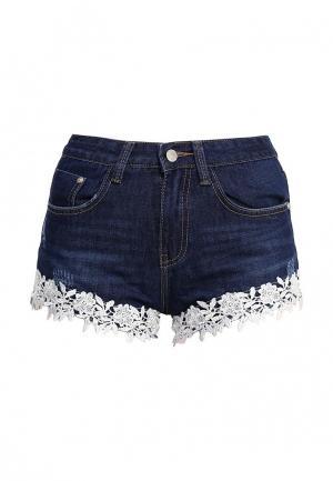 Шорты джинсовые By Swan. Цвет: синий