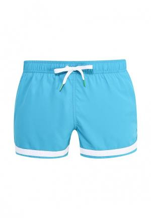 Шорты для плавания United Colors of Benetton. Цвет: бирюзовый