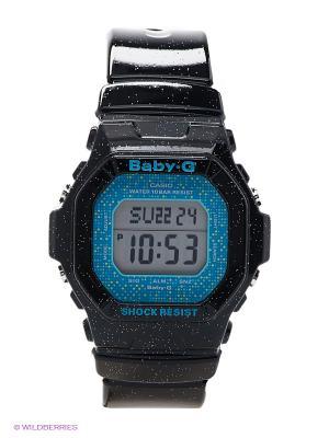 Часы Baby-G CASIO. Цвет: черный, синий