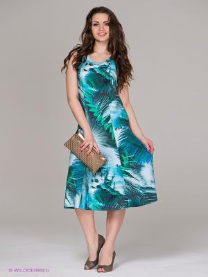 Платье DORISStreich. Цвет: бирюзовый