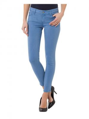Джинсы Cross Jeans. Цвет: лазурный