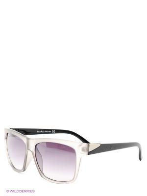 Солнцезащитные очки Mario Rossi. Цвет: серый
