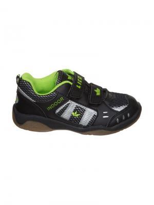 Кроссовки Lico. Цвет: черный, зеленый