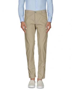 Повседневные брюки BASICON. Цвет: бежевый