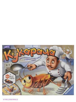 Настольная игра Кукарача Ravensburger. Цвет: коричневый