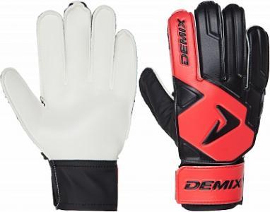 Перчатки вратарские Demix. Цвет: красный