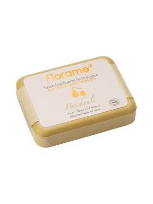 Florame Мыло  Пачули , Полимерная Упаковка 100 Г. Цвет: желтый
