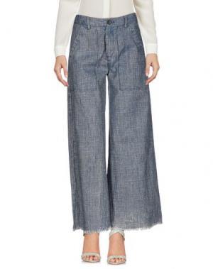Повседневные брюки VIRNA DRÒ®. Цвет: грифельно-синий