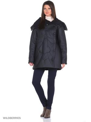 Пальто Face Short Katya Erokhina. Цвет: черный