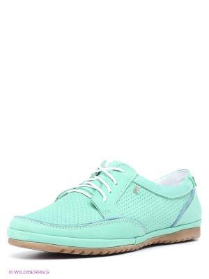 Ботинки Goergo. Цвет: светло-зеленый