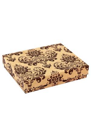 Коробка крафт набор из 4 VELD-CO. Цвет: коричневый
