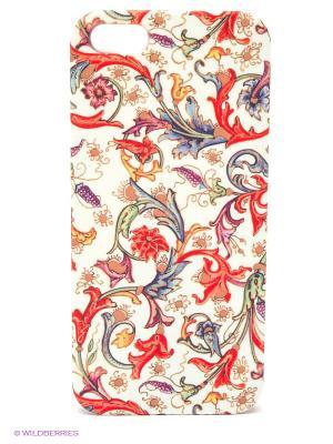 Чехол для IPhone 5 Райский сад Mitya Veselkov. Цвет: красный, белый