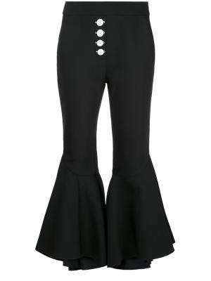 Укороченные брюки Sin City Ellery. Цвет: чёрный