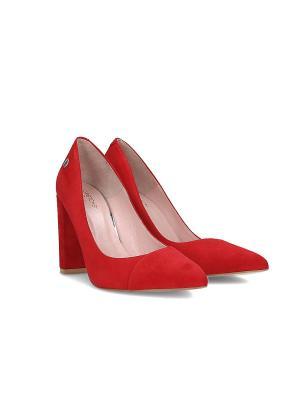 Туфли Gretchen. Цвет: красный