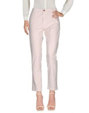 Повседневные брюки LOCAL APPAREL. Цвет: светло-розовый
