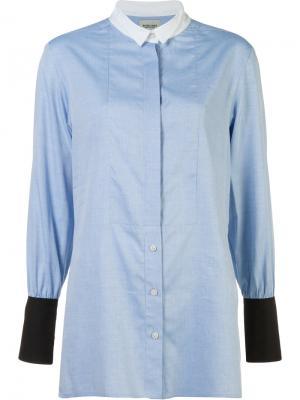 Рубашка дизайна колор-блок Rachel Comey. Цвет: синий