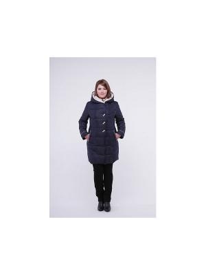 Пальто OSTRICH. Цвет: черный, молочный