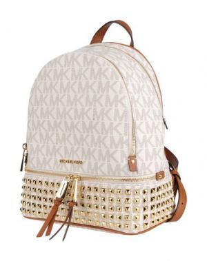 Рюкзаки и сумки на пояс MICHAEL KORS. Цвет: слоновая кость